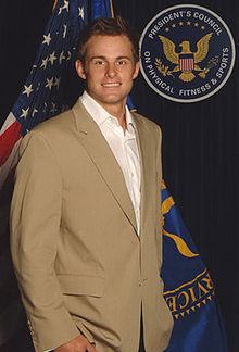 That is not the picture I would have chosen for  Andy Roddick's Wikipedia page .