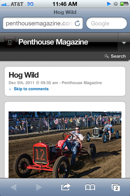 Penthouse's mobile app makes me laugh.