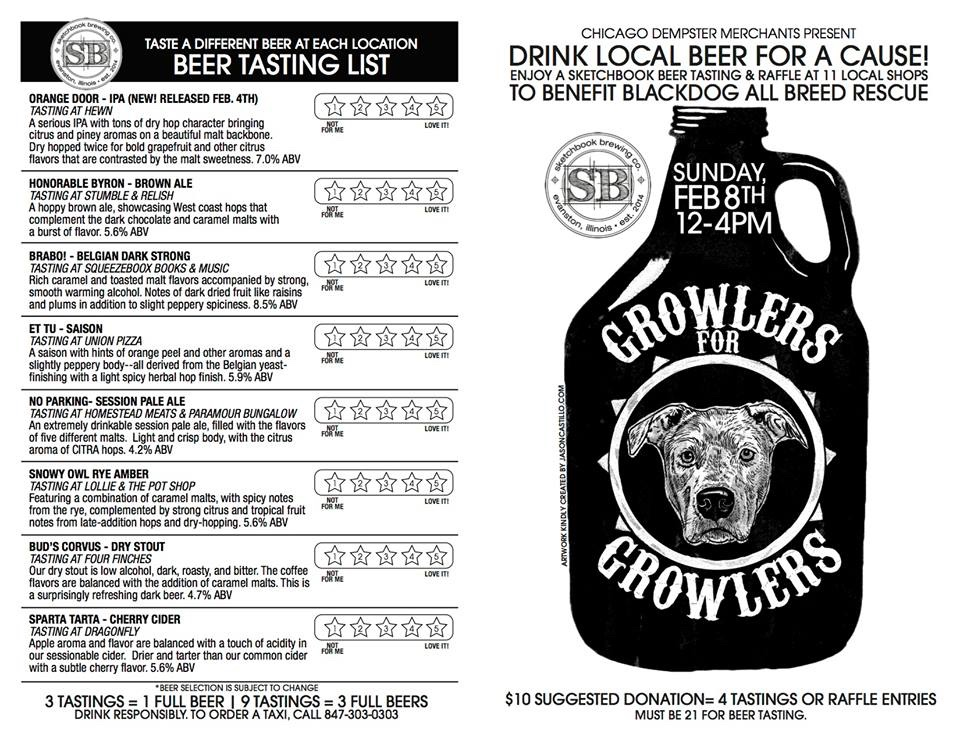 Growlers for Growlers: beer and pooches!