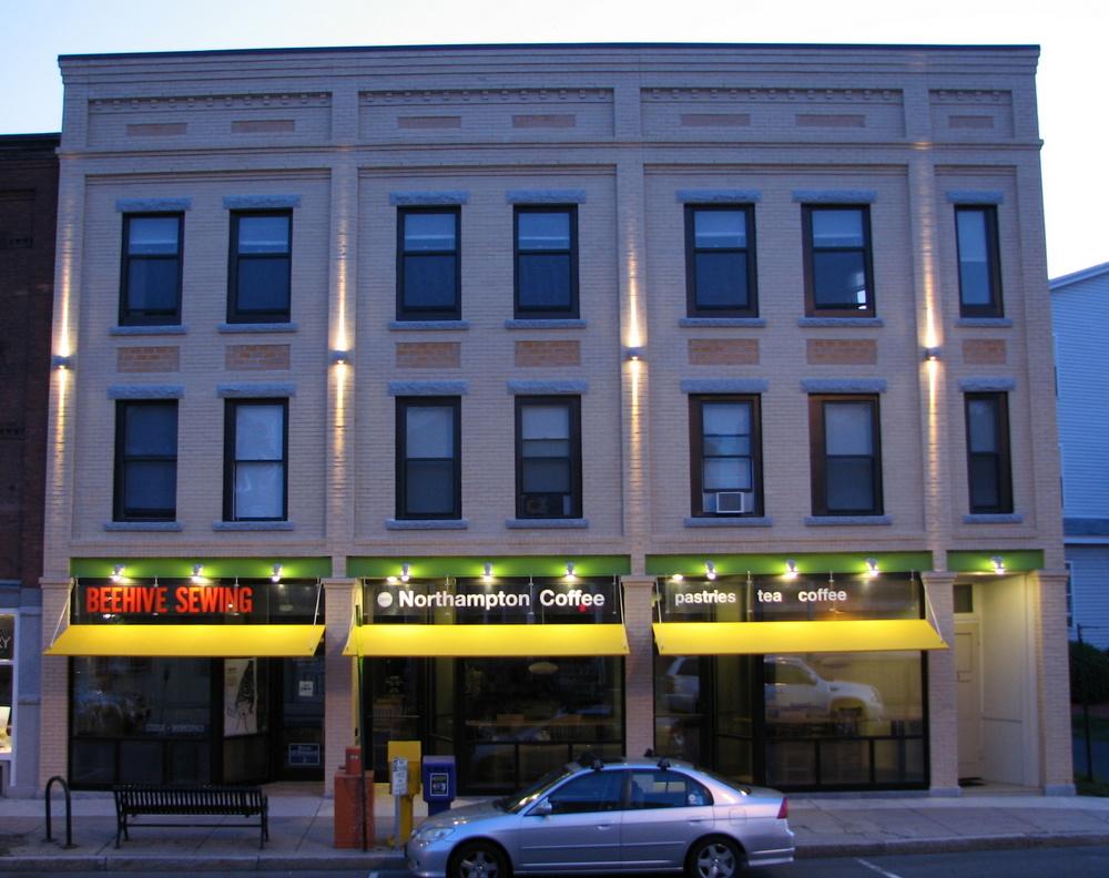 Facade repairs - Northampton, MA