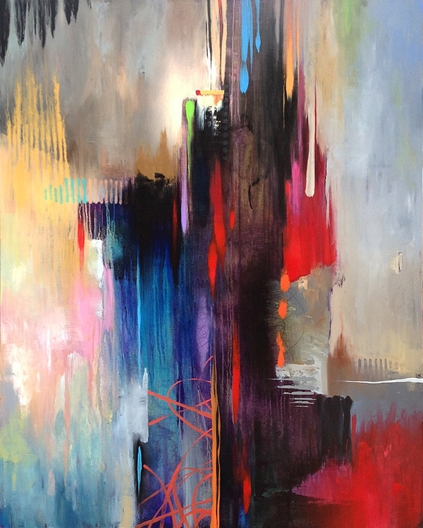 Setting The Course Abstract Painting Print Free Shipping Art2d Gallery Naples Fl Contemporary Fine Art Prints Modern Abstract Artwork By Southwest Fl Artist Timothy Parker
