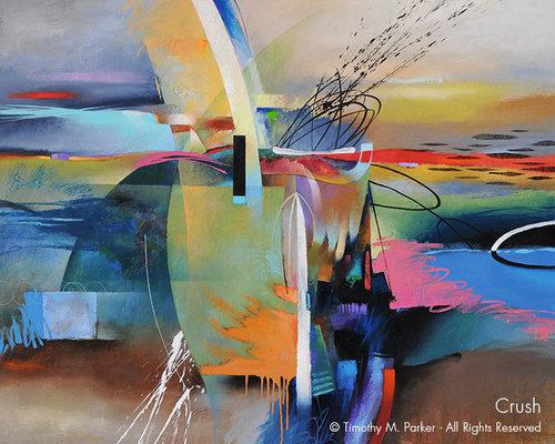 crush abstract fine art print art2d gallery naples fl