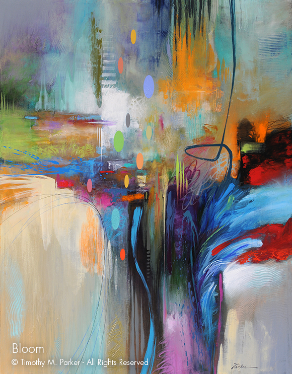 Abstract Art Abstract Paintings Artist Tim Parker