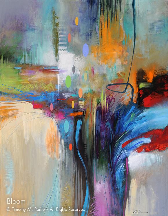 Bloom • Abstract Fine Art Print