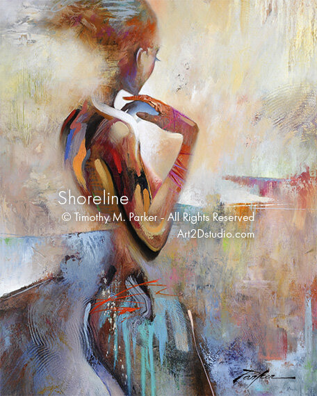 Shoreline • Abstract Figure Fine Art Print • Limited Edition • Free  Shipping — Art2D Gallery Naples FL - Contemporary Fine Art Prints & Modern  Abstract Artwork By Southwest FL Artist Timothy Parker
