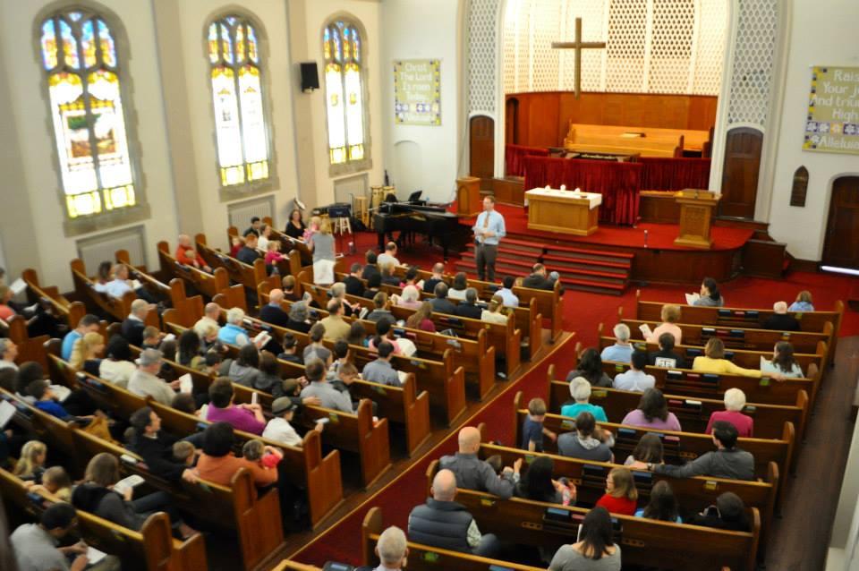 all church banquet trinity presbyterian church