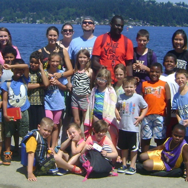 Annual Programs & Partnerships - Annual Trinity Outreach Programs and Partnerships consist of Camp Trinity, a two-week summer camp, Christmas House, which assists 40 neighborhood families, and Back to School Night, which serves over 200 students and families.