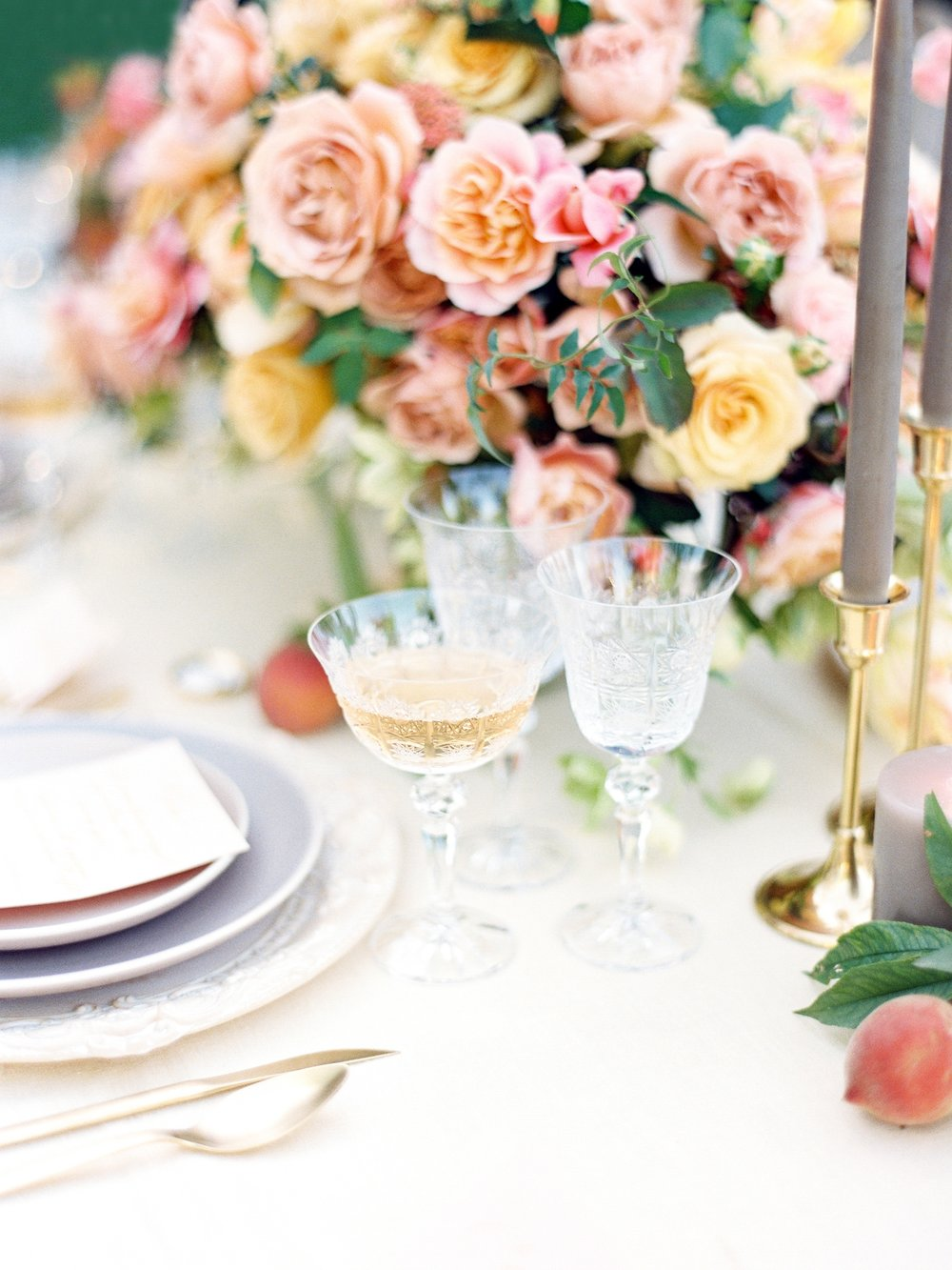 full-service - —event set-up with ceremony designs + reception/centerpiece florals at any california-based venue.