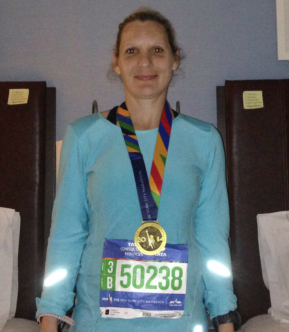 A huge CONGRATULATIONS to Jill on her NYC Marathon finish this past weekend!