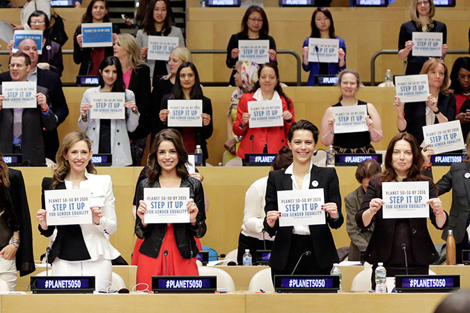 Speaker at the Call to Action for Gender Equality and Women's Empowerment Conference held at UN HQ