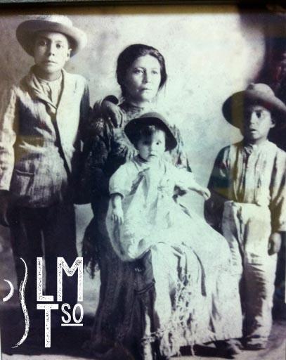 Juan, Vidal, PánfiloBarrientos Hernández arrive with mother Alejandra Hernández from Aguascalientes, México. They originated from Haciendo de Los Campos, Zacatecas, México.