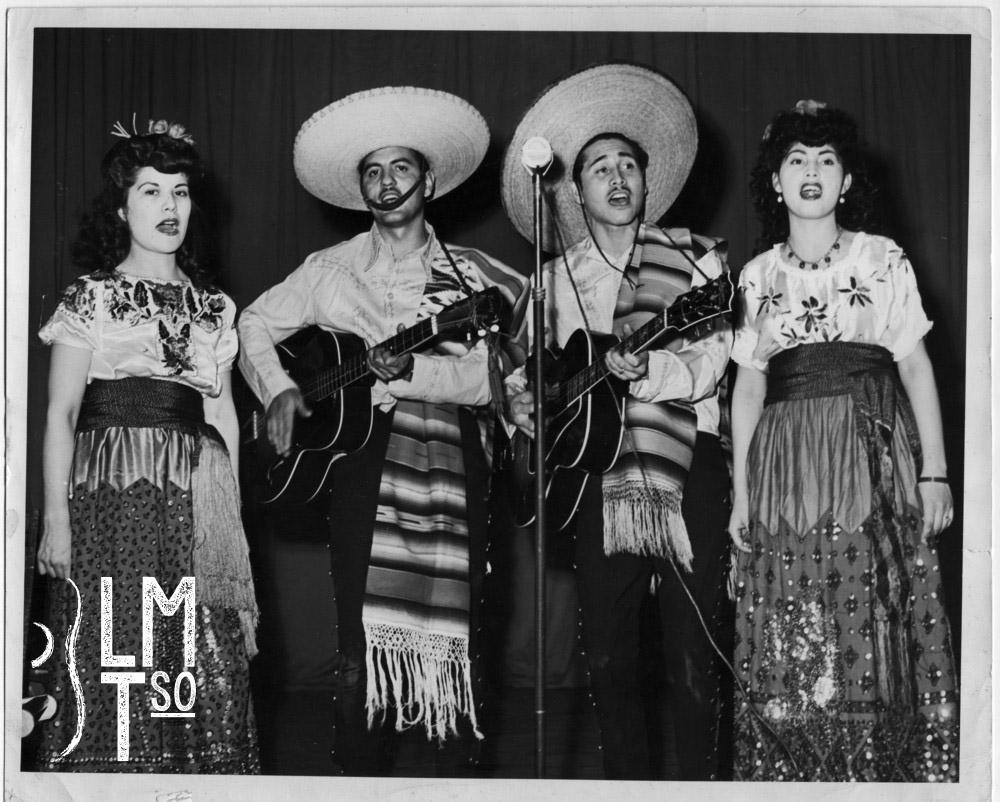 1946 Trini Huerta Barrientos, Leo Barrajas, Arturo & Jay Huerta