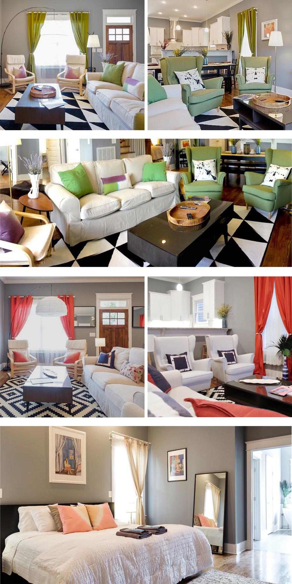 interior designer: Kyle Komline. Photo cred: Airbnb