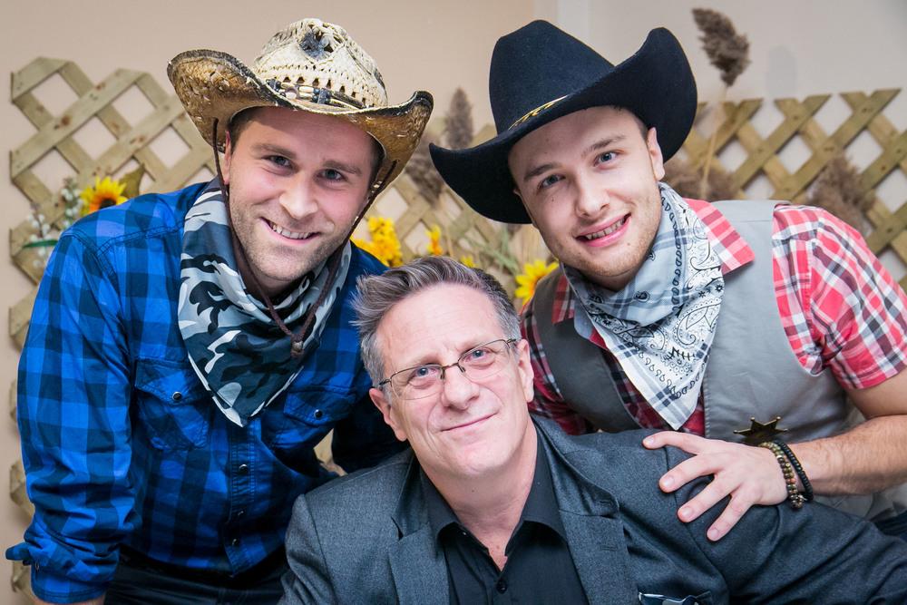 Stéphane Lapointe, Nicholas Lachance et David Bedard.
