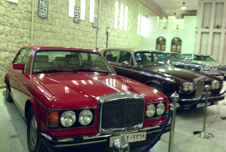 Not all women are allowed behind the wheel. (Image taken at the S heikh Faisal Bin Qassim Al-Thani Museum.)
