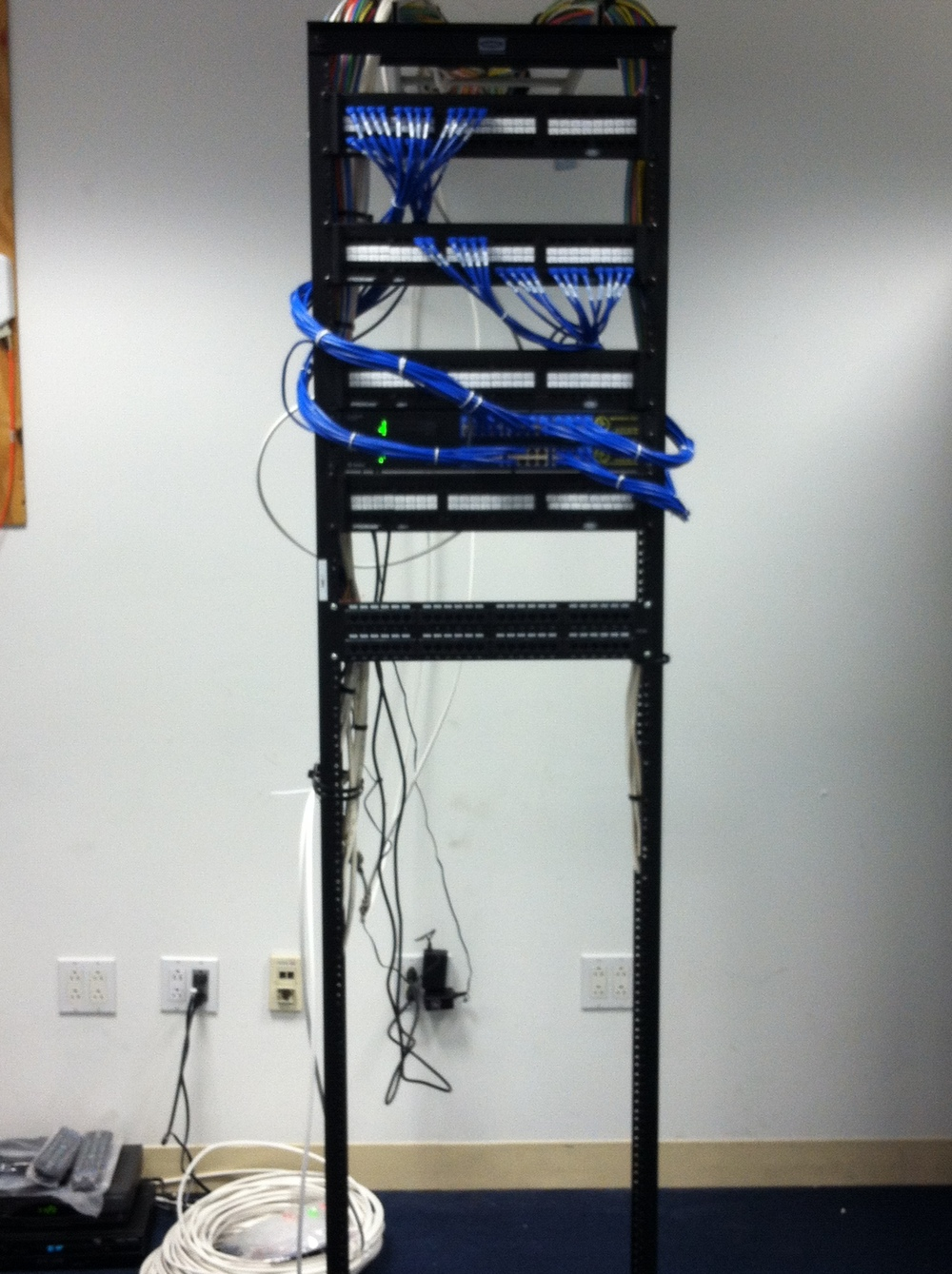 Communication Rack