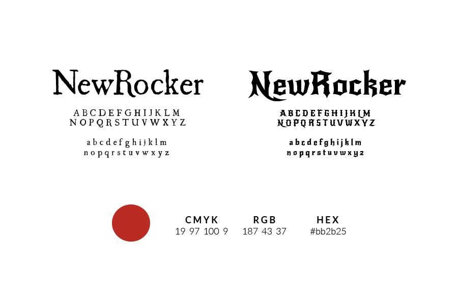 New Rocker Font