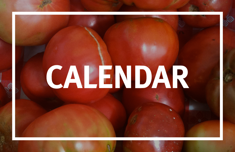 Keep an eye on our calendar of events so you never miss out on a market or event.