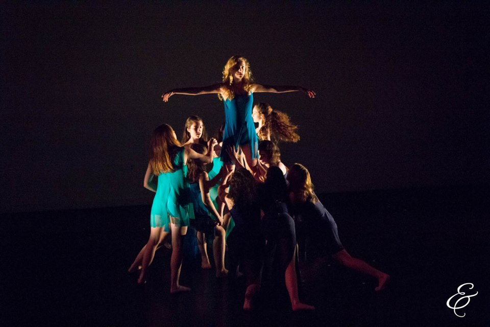 Emma in Erin's Company Piece for Creative Arts Studio Dance Company in May 2015. Photo by Ebbe Sweet