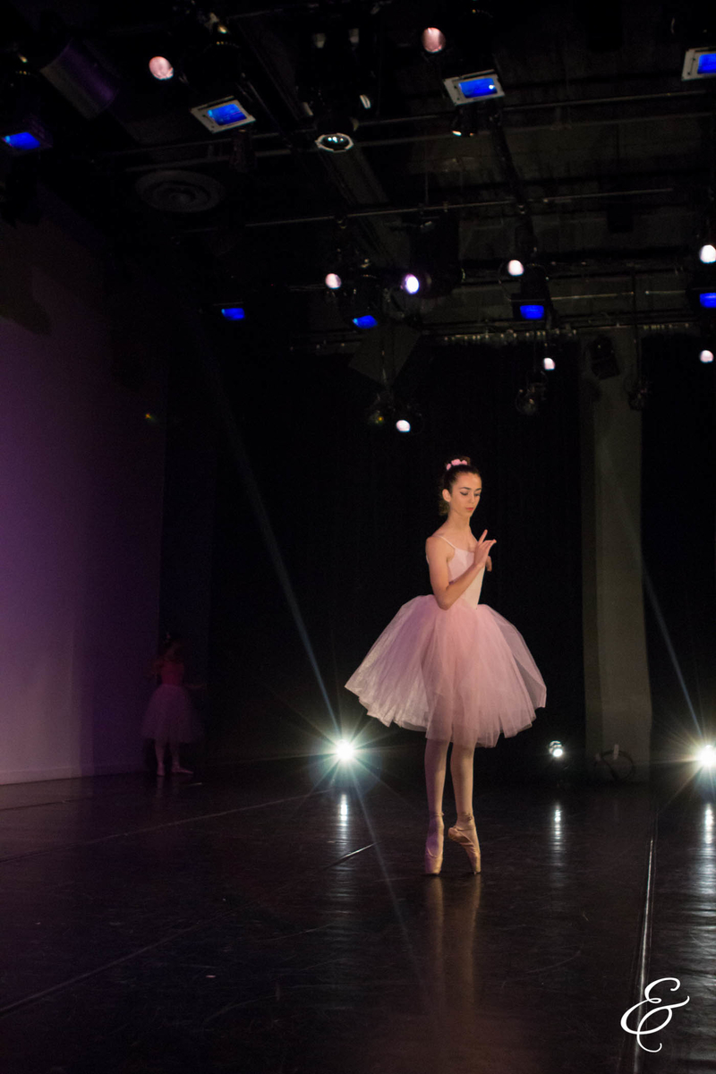 "Ruby performing a solo in ""Pas de Quatre"" in e.g.dance Student Performance in May 2015. Photo by Ebbe Sweet Photography."