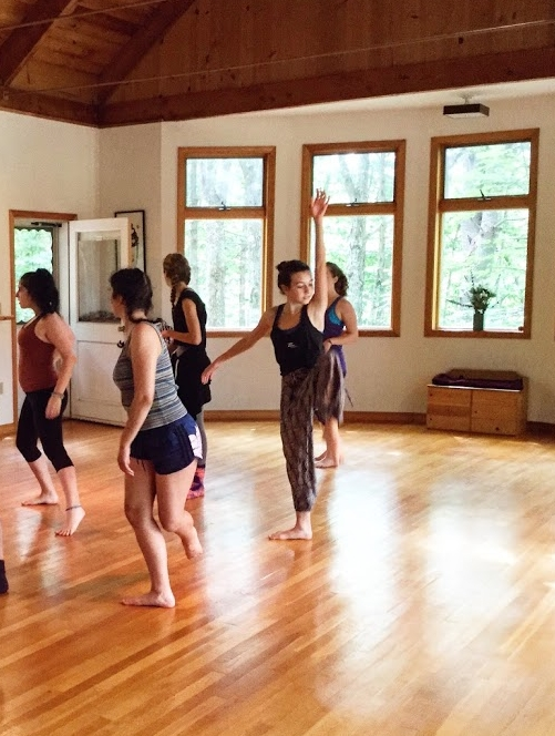 Lucia in Sanbornton, NH at e.g.dance's summer workshop. August 2016
