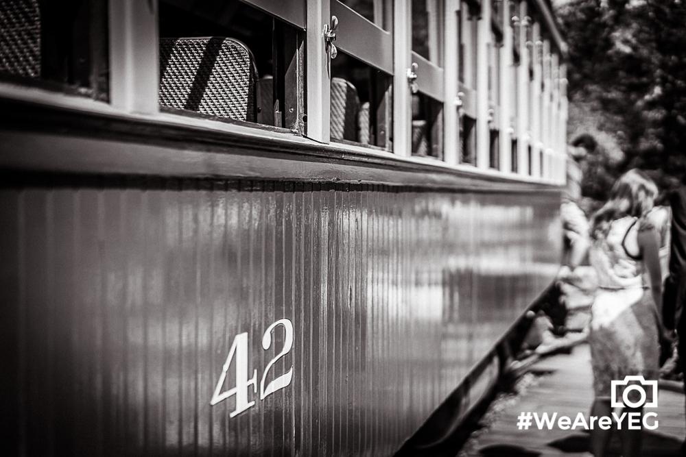Streetcar no. 42, my newfound friend.