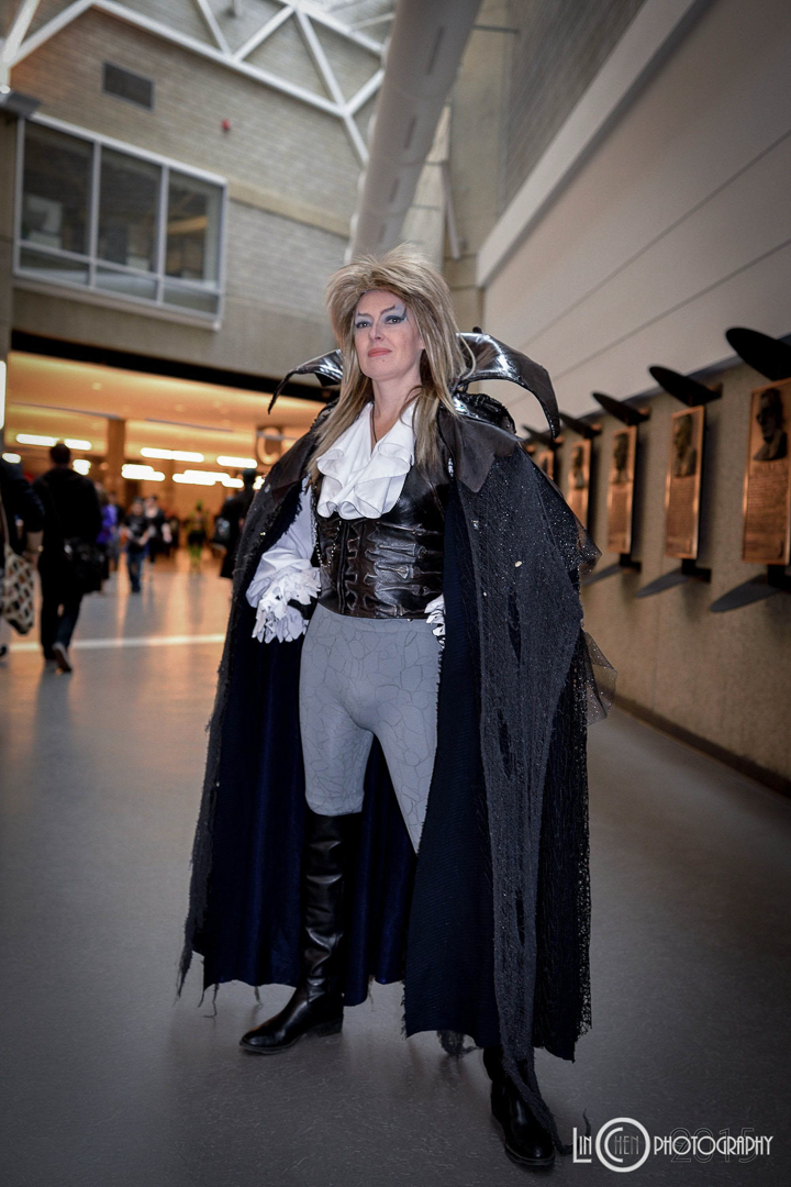 The Goblin King - David Bowie, eat your heart out!