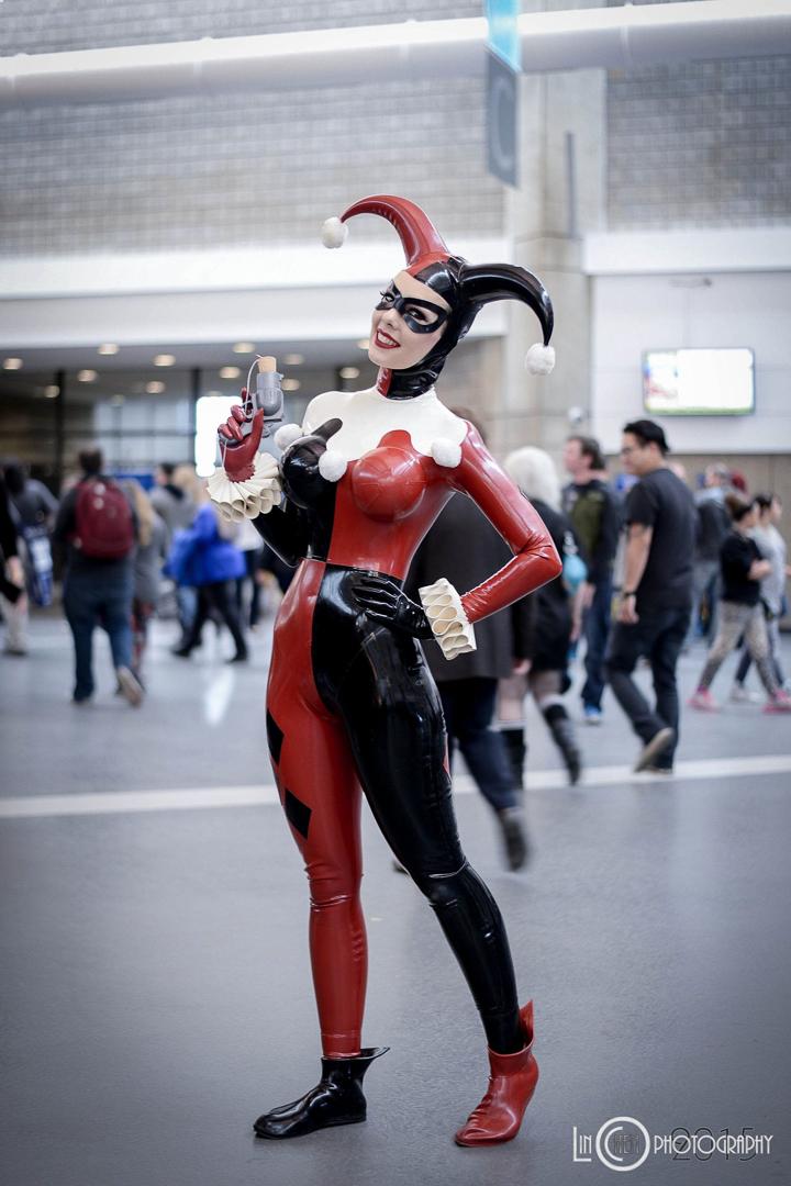 Naughty Harley Quinn