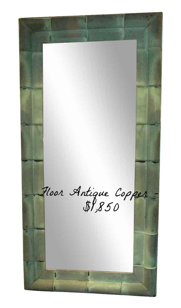 Large Antique Copper Shingle