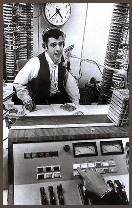 Les Marshak on the air at Musicradio WABC, 1969