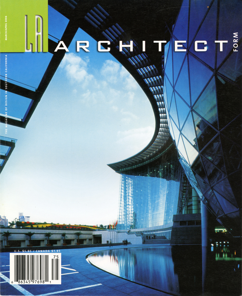 LA Architect March/April 2006