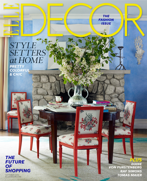 Elle Decor October 2015