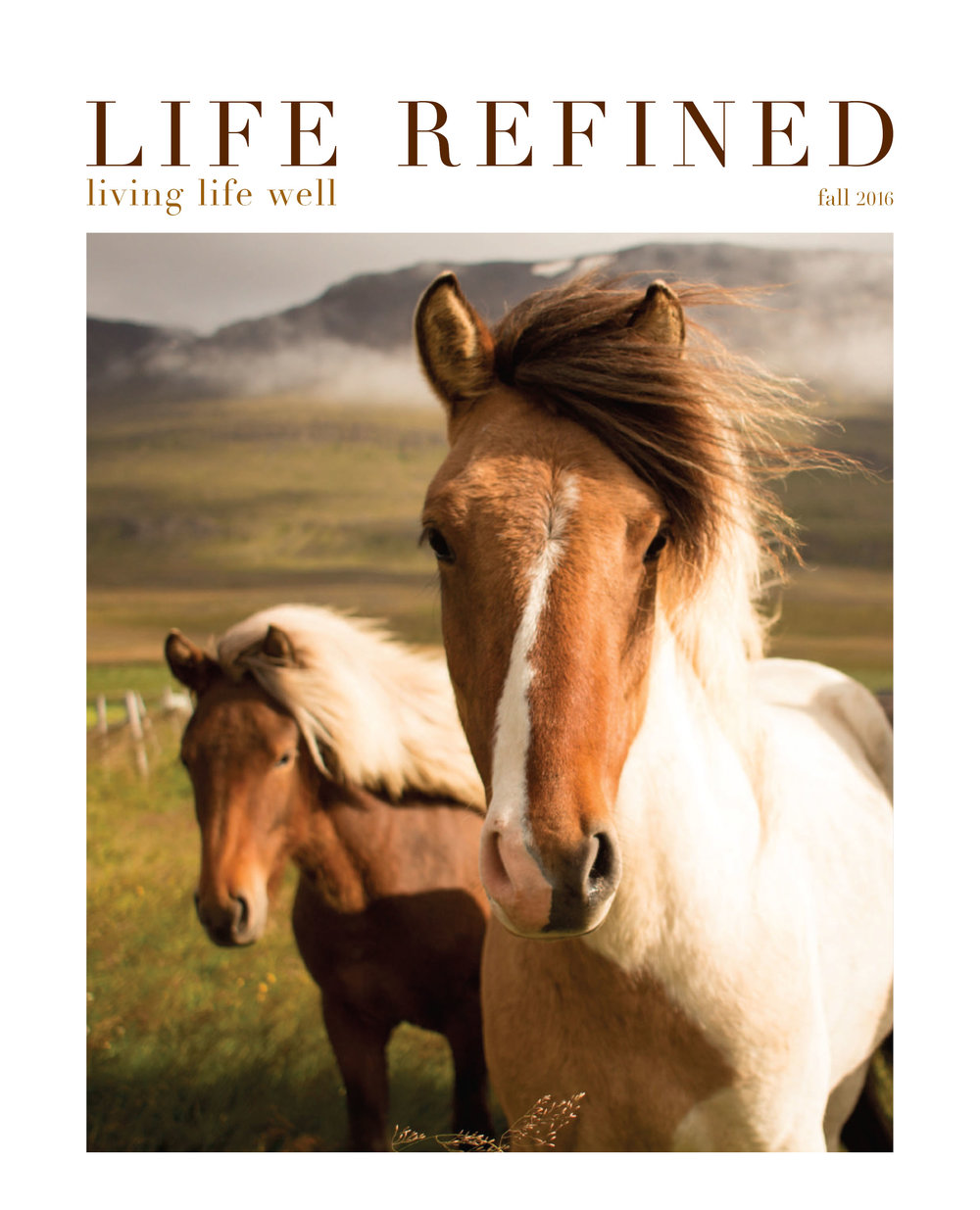 Life Refined Fall 2016