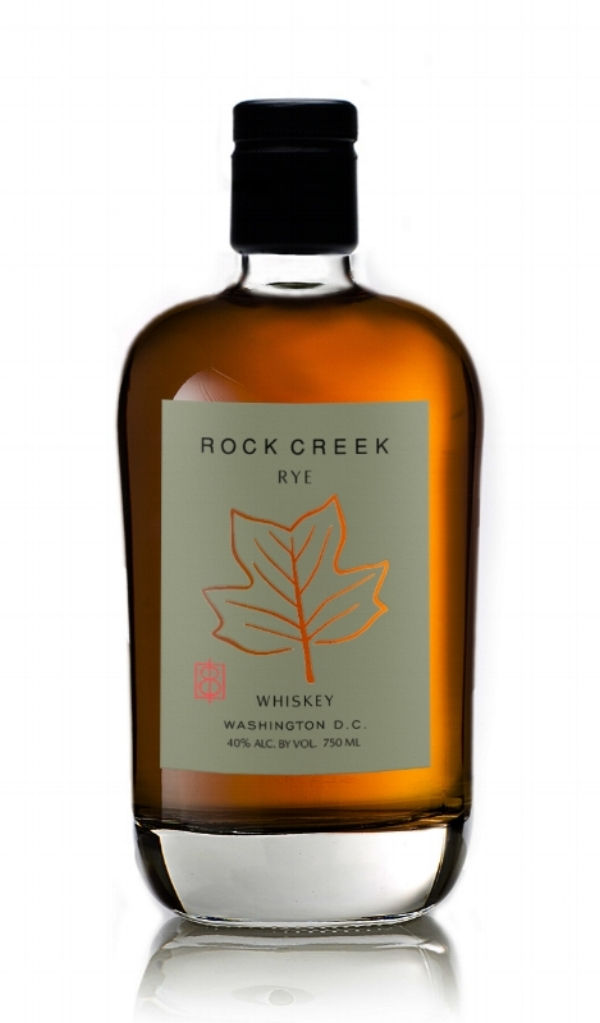 750ml / 47% alc. by vol / $50 MSRP      The first grain to glass rye whiskey distilled, aged, and bottled in the District since Prohibition. Distilled in small batches in a copper pot still and matured in the highest quality new American oak barrels, Rock Creek Rye is bottled at 94 proof, making it ideal for enjoying neat or in a favorite cocktail. With none of the grassy notes of a young rye, this is a full-bodied whiskey with the spicy characteristics of rye balanced with a little sweetness and rich malted flavors.