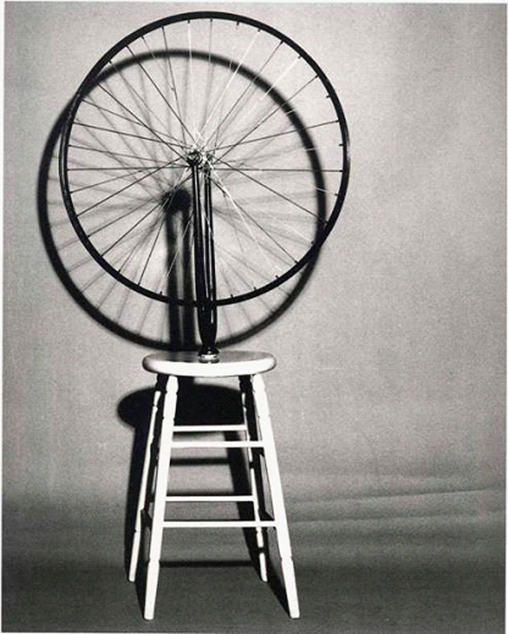 Marcel Duchamp, Bicycle Wheel, 1912.