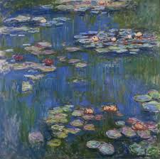 """Water Lilies"" Claude Monet"