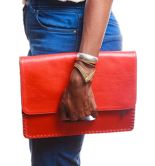 red. . . . . . . . #ny #fashion #bags #wallets #shopsmall #nyc #leather #clutch #inspiration #slowfashion #maker #designer  #fashionistas #style #chic