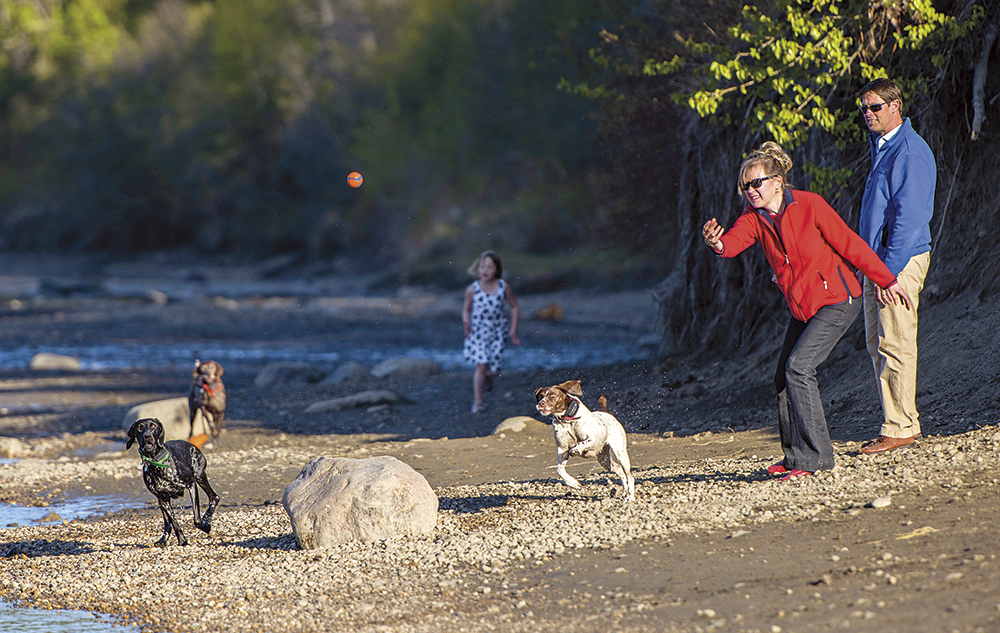 Carla-Sojonky-and-dogs-John-Lewis-and-daughter