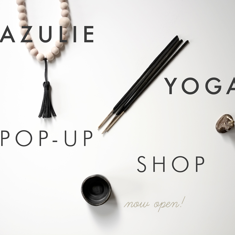Azulie Yogic Life | Fall Pop Up Shop