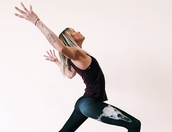 AZULIE YOGA PIC OF THE WEEK | CLARE