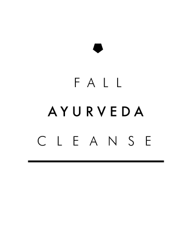 Azulie Fall Ayurveda Cleanse