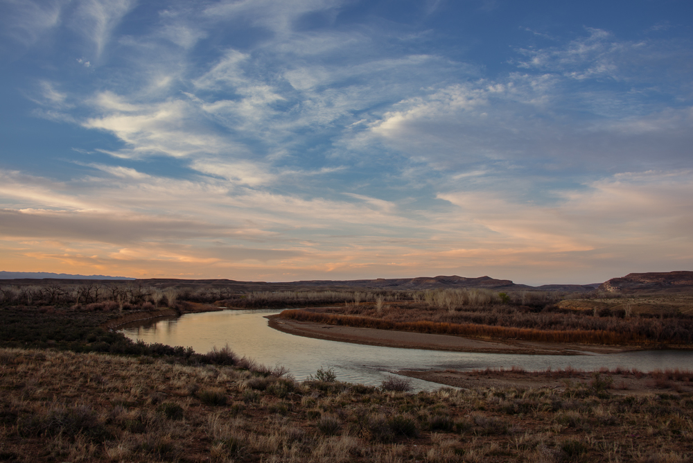 Colorado River at Dusk