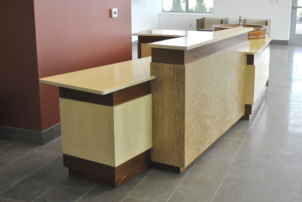 Atlanta Custom Reception Desk Design — Turner Custom ...