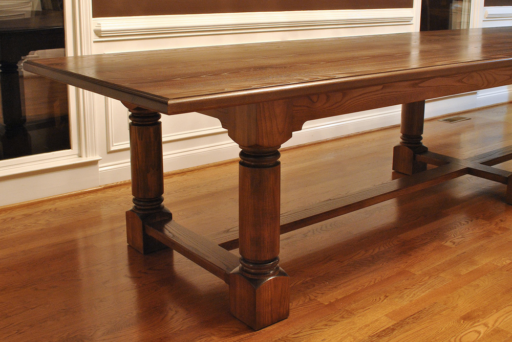 Big Traditional Dining Table