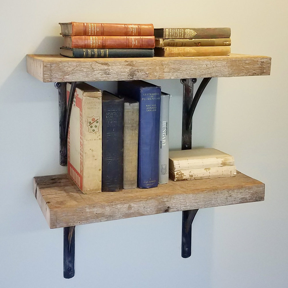 Rustic Industrial oak steel shelves.jpg