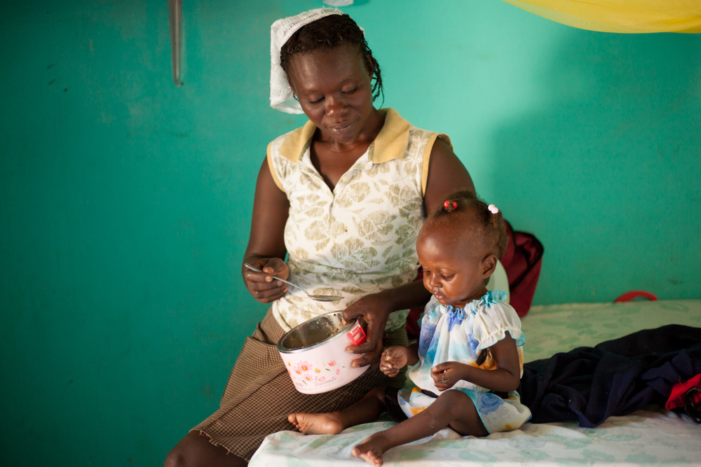 Holistic Care     A comprehensive approach to treating childhood malnutrition in Haiti.
