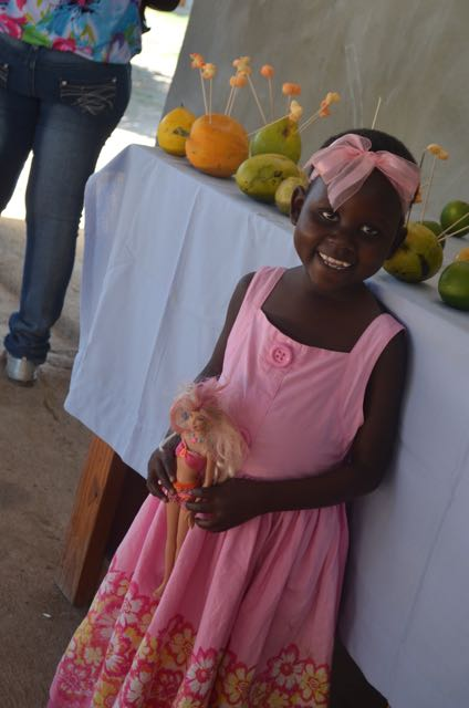 11 year old Lovelie - The oldest child to be treated for SAM at Second Mile Haiti