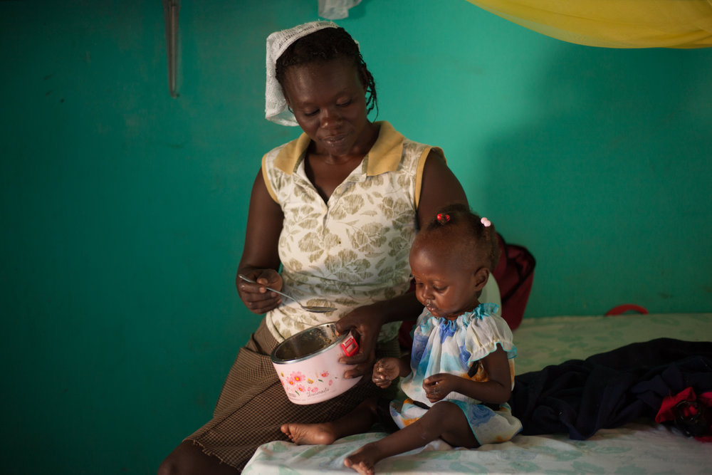 6. Unclaimed - Nutrition intervention and education is vital for pregnant women. It shouldn't be the case that 23% of all babies born in Haiti are reported have low birth weight.