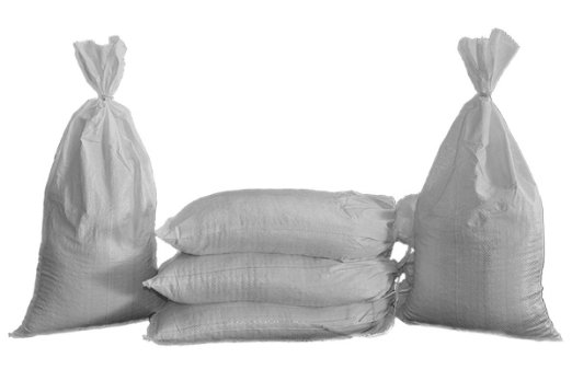 unfilled-sandbags