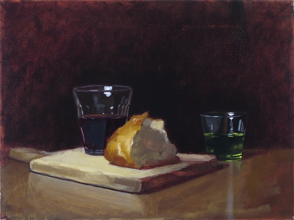 Bodegon ( Tavern Still-life )